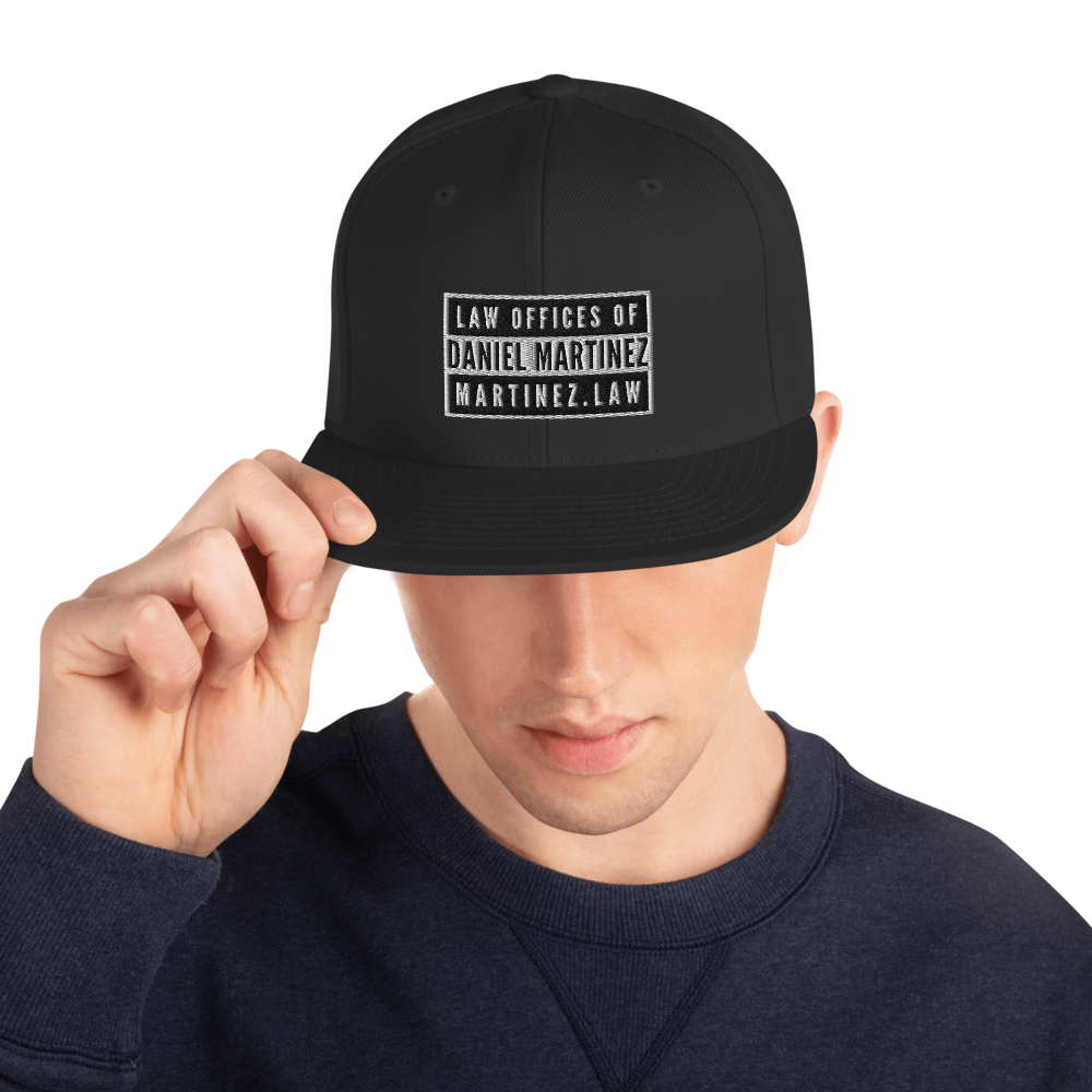 THE LAW OFFICES OF DANIEL MARTINEZ Snapback Hat