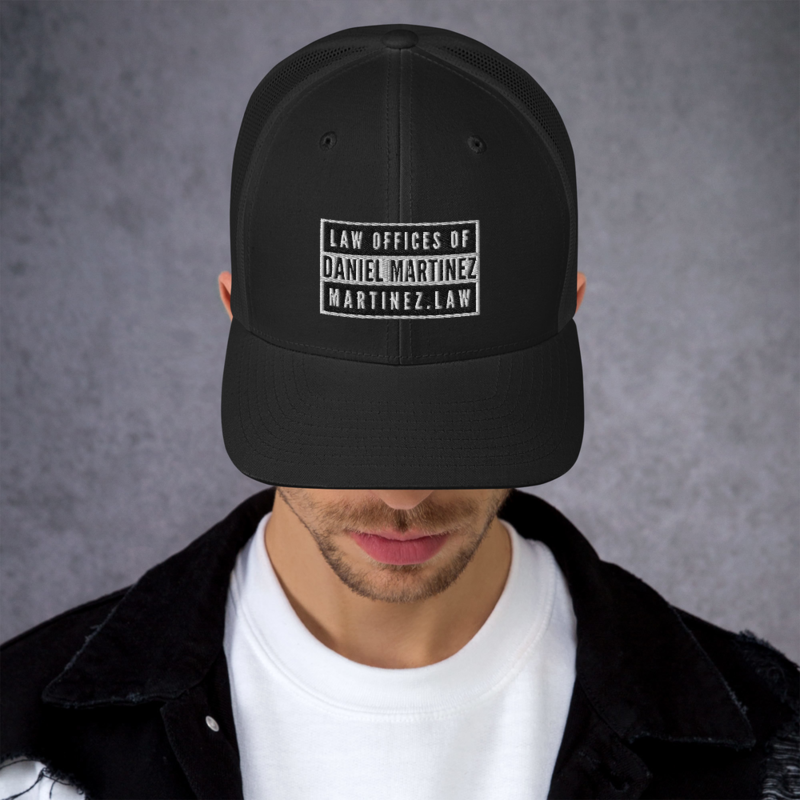 THE LAW OFFICES OF DANIEL MARTINEZ Trucker Cap