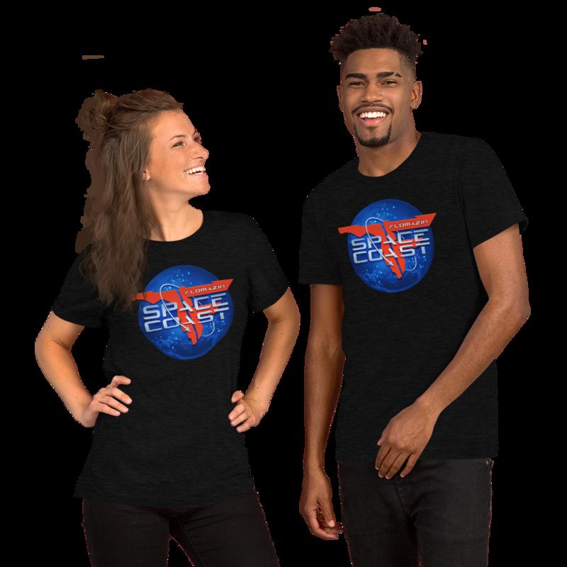 FLOMAZIN SPACE COAST 3D Premium Short-Sleeve Unisex T-Shirt