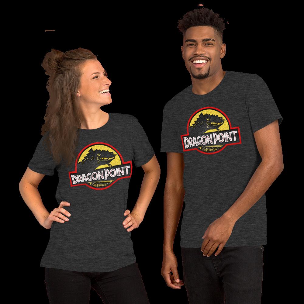 FLOMAZIN FLORASSIC DRAGON POINT 3D Premium Short-Sleeve Unisex T-Shirt