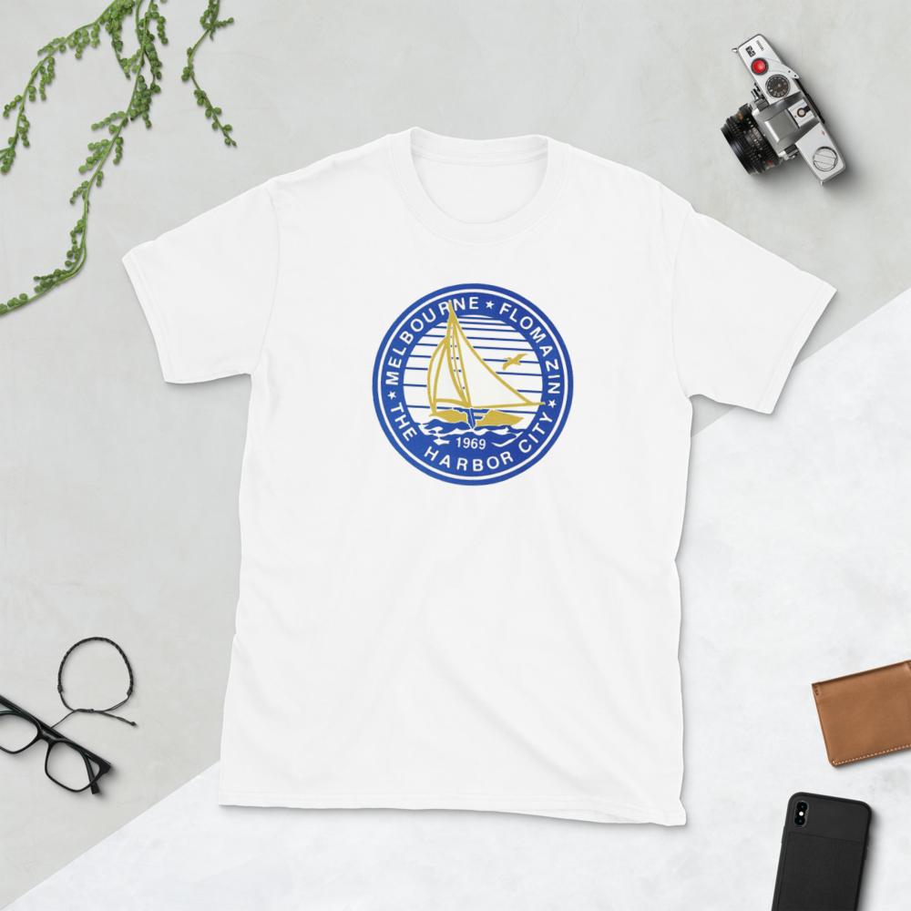FLOMAZIN THE HARBOR CITY 1969 OLD SCHOOL Short-Sleeve Unisex T-Shirt