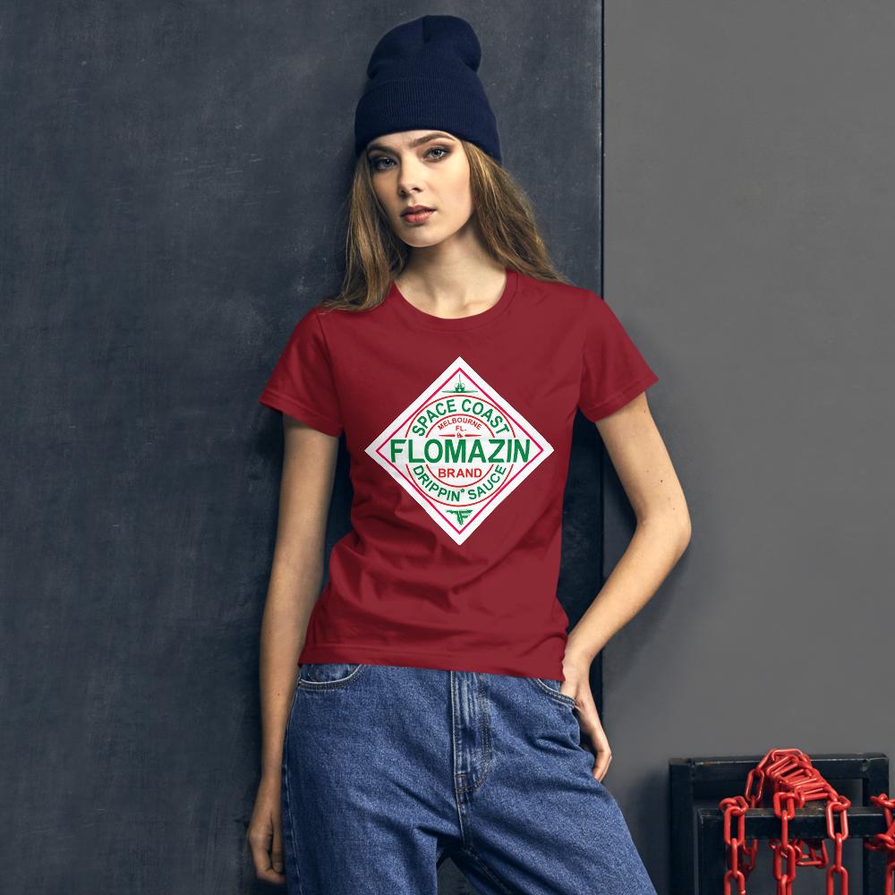 FLOMAZIN FLOBASCO Women's Short Sleeve T-shirt