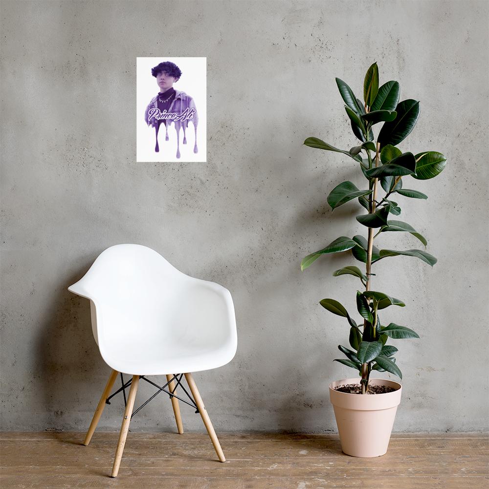 "PRINCE ALI DRIP Poster 12"" x 18"""
