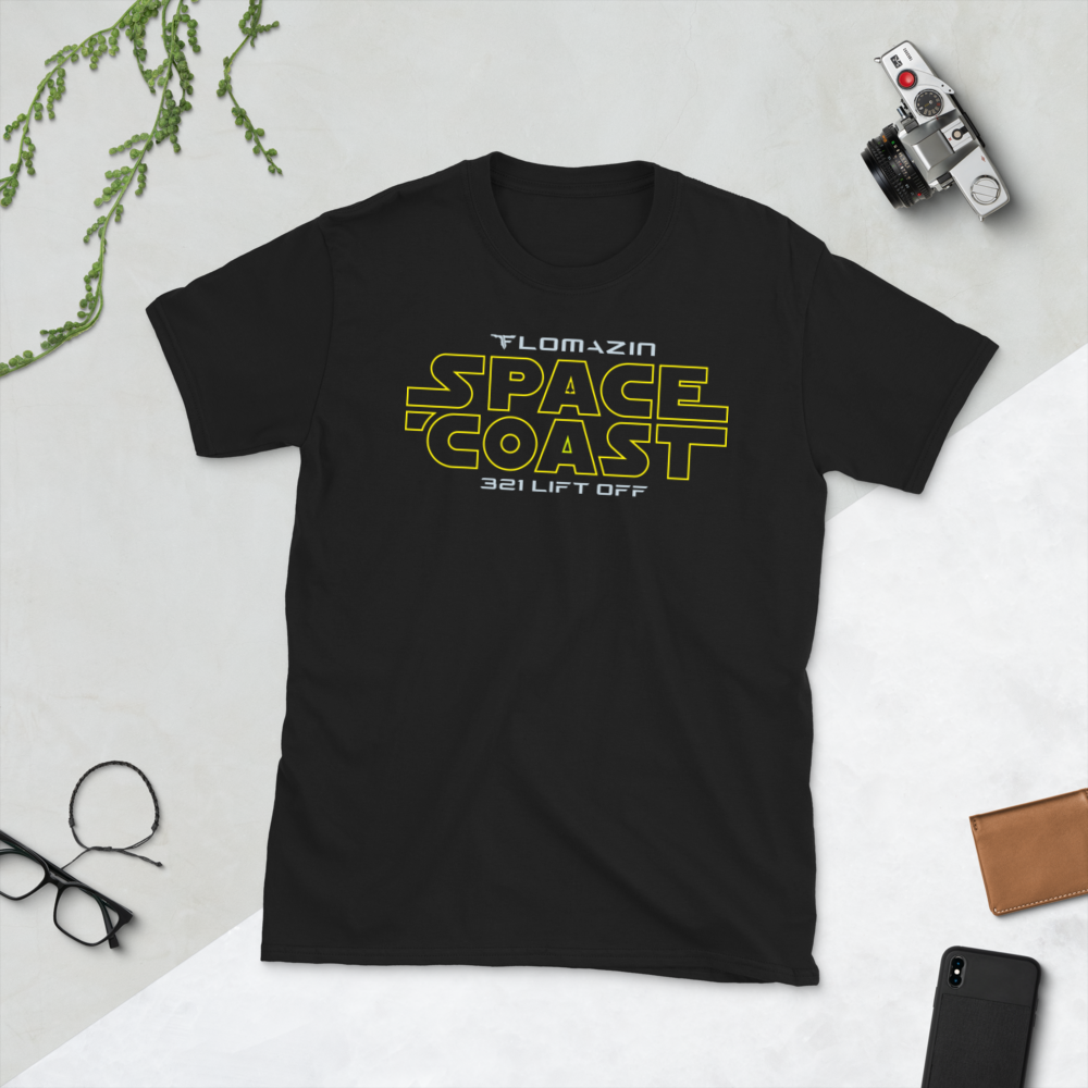 FLOMAZN SPACE COAST WARS Short-Sleeve Unisex T-Shirt