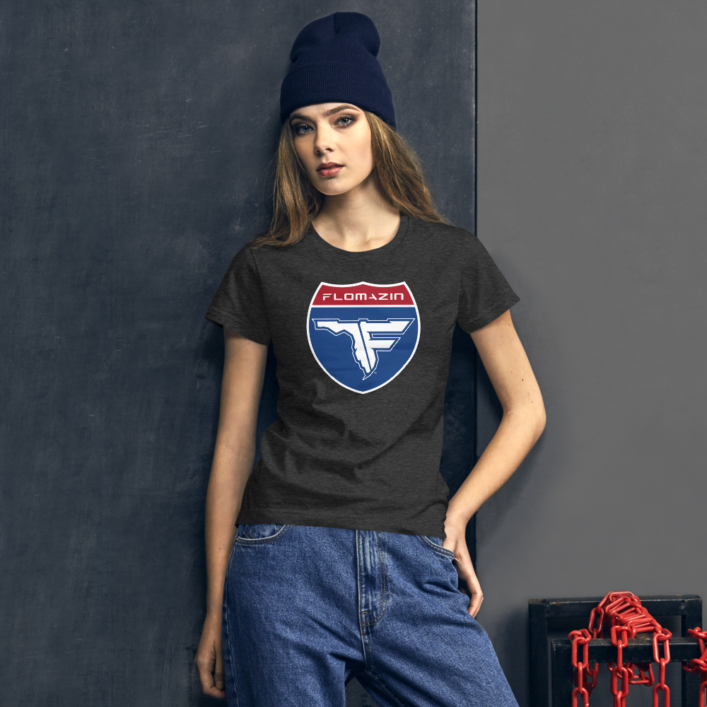 FLOMAZIN INTERSTATE OF MIND Women's short sleeve t-shirt