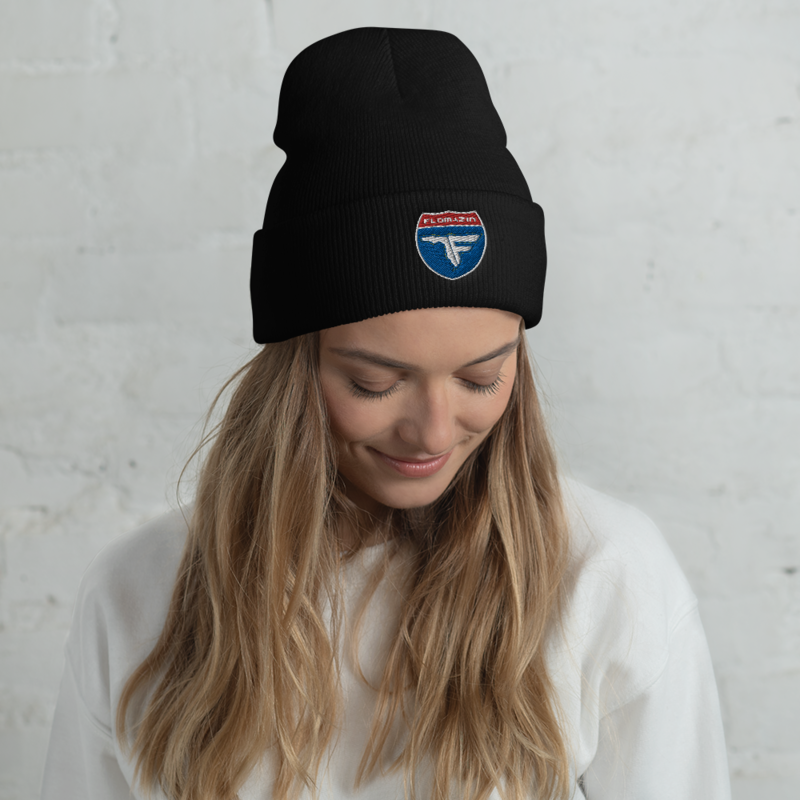 FLOMAZIN INTERSTATE OF MIND Cuffed Beanie