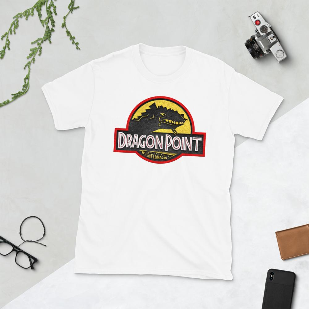 FLOAMZIN JURASSIC DRAGON POINT Short-Sleeve Unisex T-Shirt