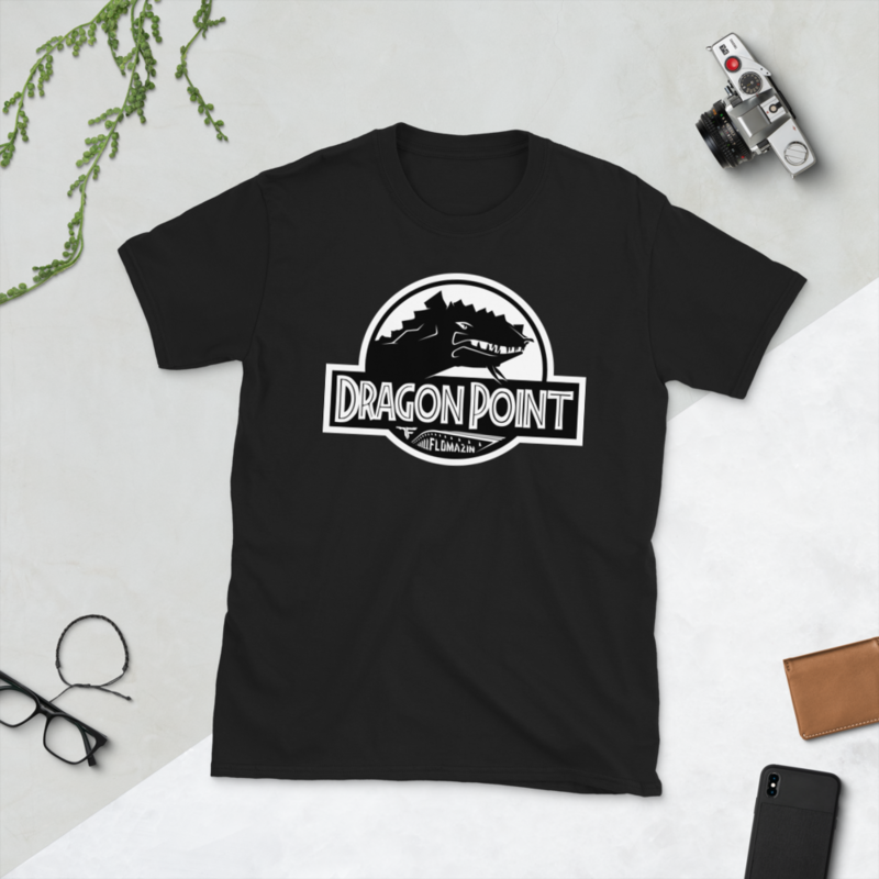 FLOMAZIN FLORASSIC DRAGON POINT Short-Sleeve Unisex T-Shirt
