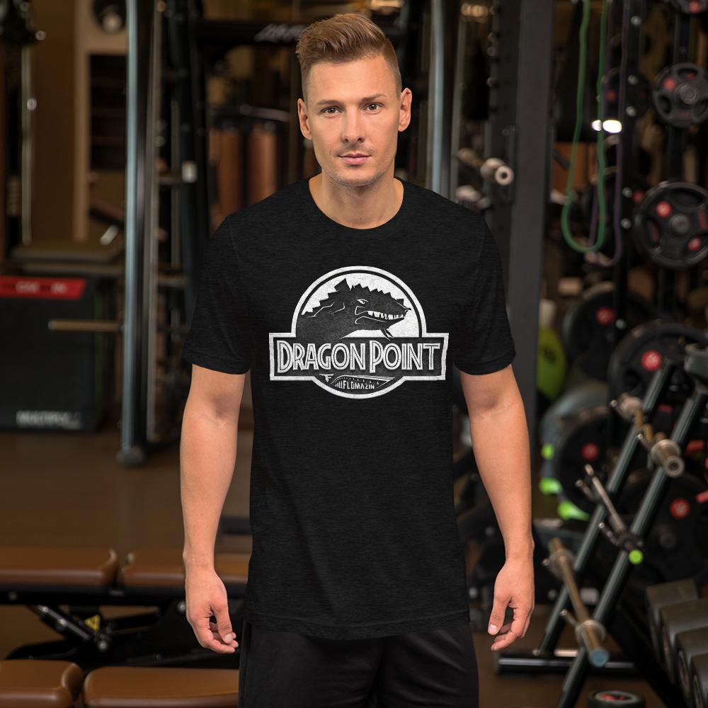 FLOMAZIN FLORASSIC DRAGON POINT 3D Short-Sleeve Unisex T-Shirt