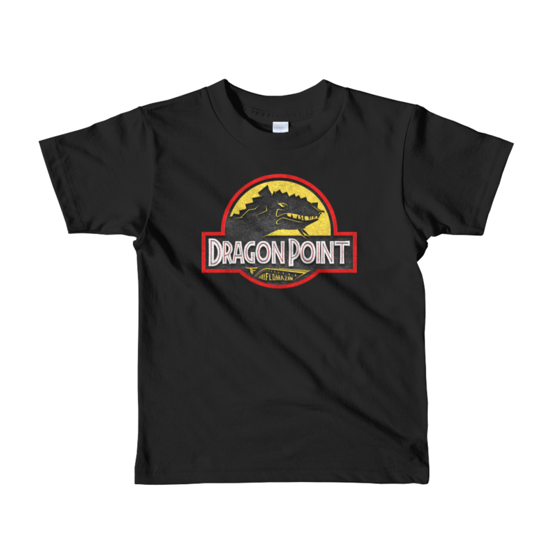 FLOMAZIN FLORASSIC DRAGON POINT Short sleeve kids t-shirt