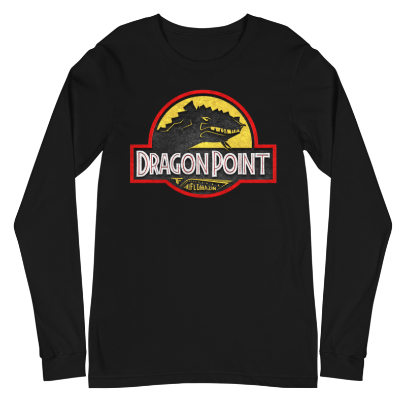 FLOMAZIN FLORASSIC DRAGON POINT Unisex Long Sleeve Tee
