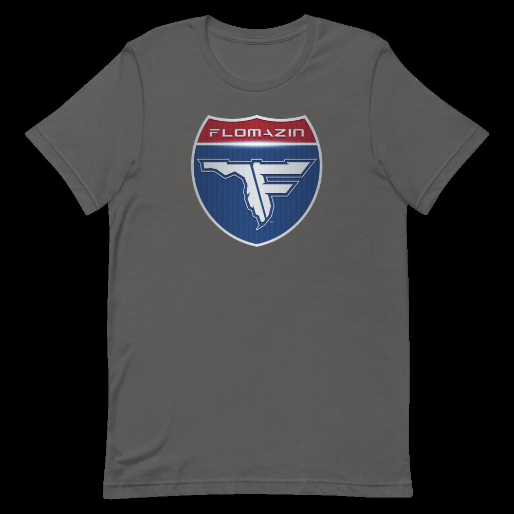 FLOMAZIN INTERSTATE OF MIND 3D Short-Sleeve Unisex T-Shirt