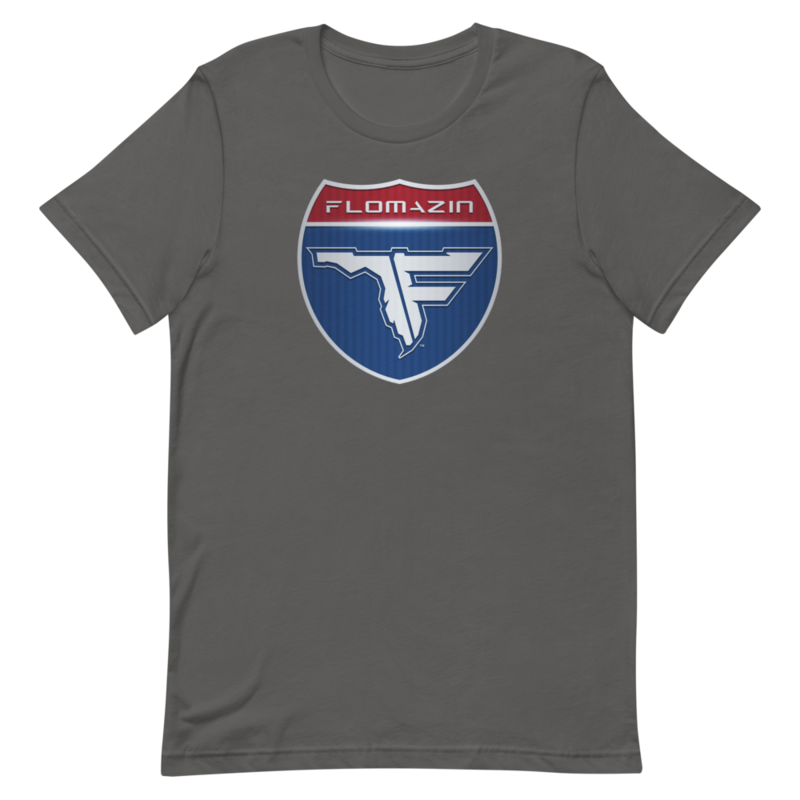 FLOMAZIN INTERSTATE OF MIND 3D Short-Sleeve Unisex T-Shirt