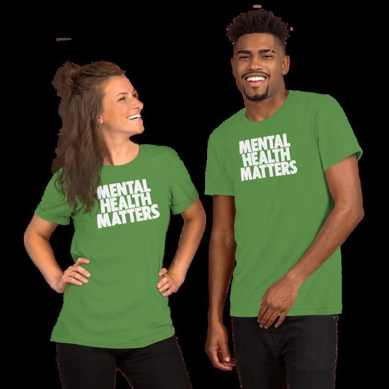 MENTAL HEALTH MATTERS Short-Sleeve Unisex T-Shirt