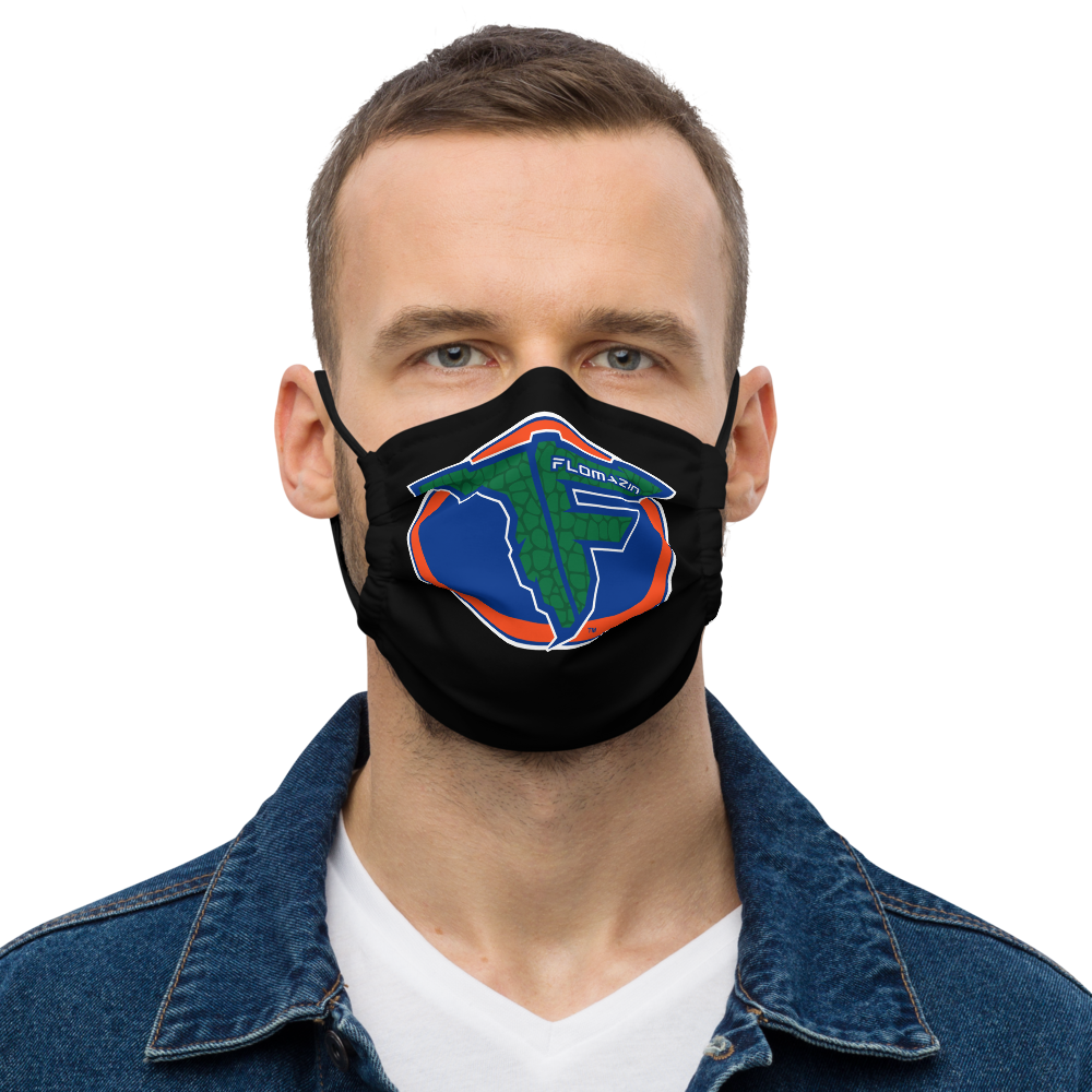 FLOMAZIN GATORS Premium Face Mask
