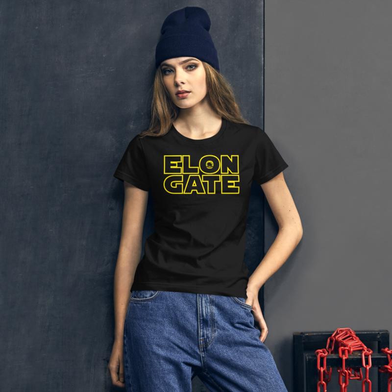 ELON GATE Women's short sleeve t-shirt