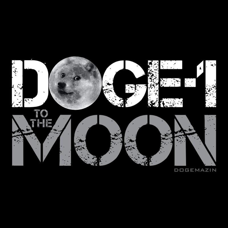 DOGE-1 TO THE MARS DOGECOIN ELON MUSK SPACEX DOGEMAZIN Short-Sleeve Unisex T-Shirt