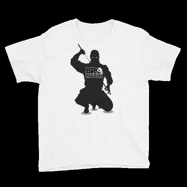 BROMAZIN BRONINJA SJH4 EXCLUSIVE Youth Short Sleeve T-Shirt - 2 Colors