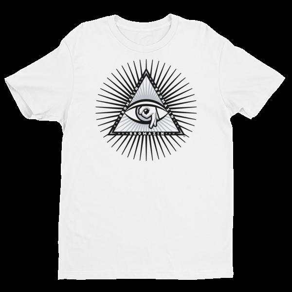 BROMAZIN BROLUMINATI PYRAMID Black Rays Short Sleeve T-shirt - Multiple Colors