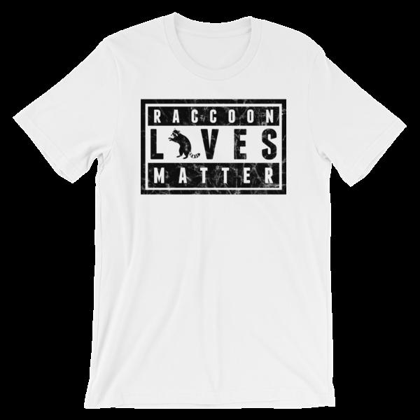 BROMAZIN RACCOON LIVE MATTER Short-Sleeve Unisex T-Shirt - Multiple Colors