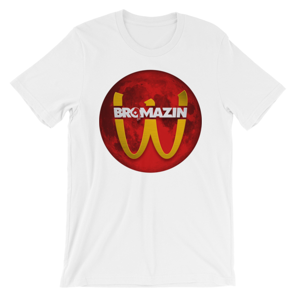 BROMAZIN BRODONALDS BLOOD MOON Short-Sleeve Unisex T-Shirt