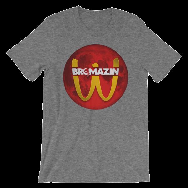 BROMAZIN BRODONALDS BLOOD MOON Short-Sleeve Unisex T-Shirt
