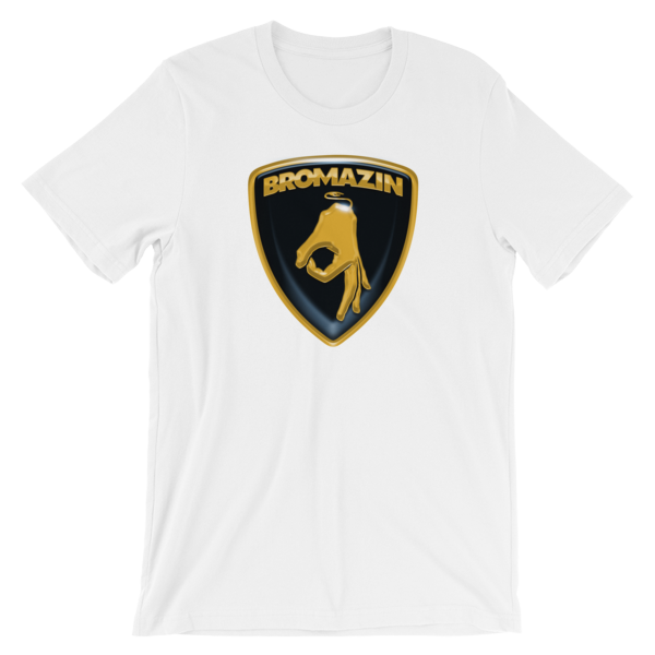 BROMAZIN LAMBROGHINI BROTALLIC  Short-Sleeve Unisex T-Shirt - Multiple Colors
