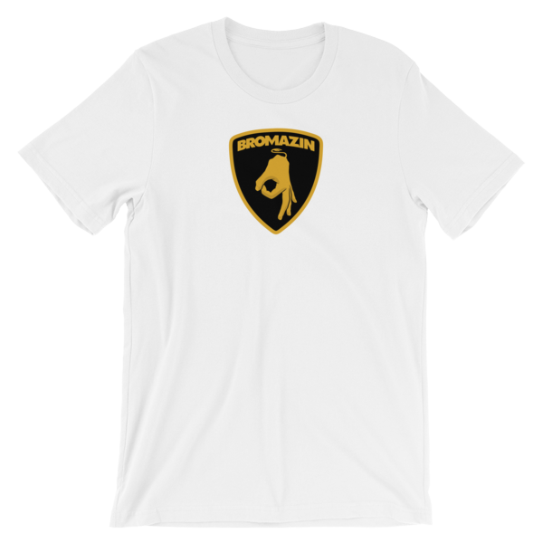 BROMAZIN LAMBROGHINI Short-Sleeve Unisex T-Shirt - Multiple Colors