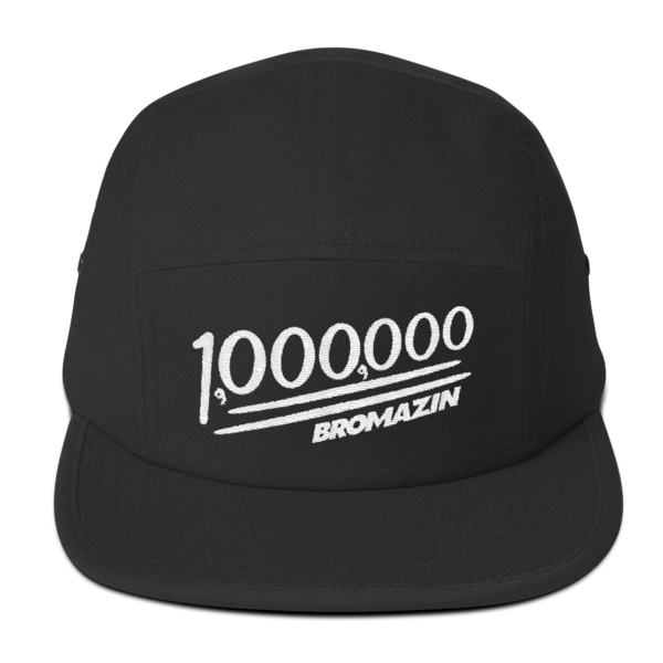 BROMAZIN BROMILLIONAIRE Five Panel Cap - Multiple Colors