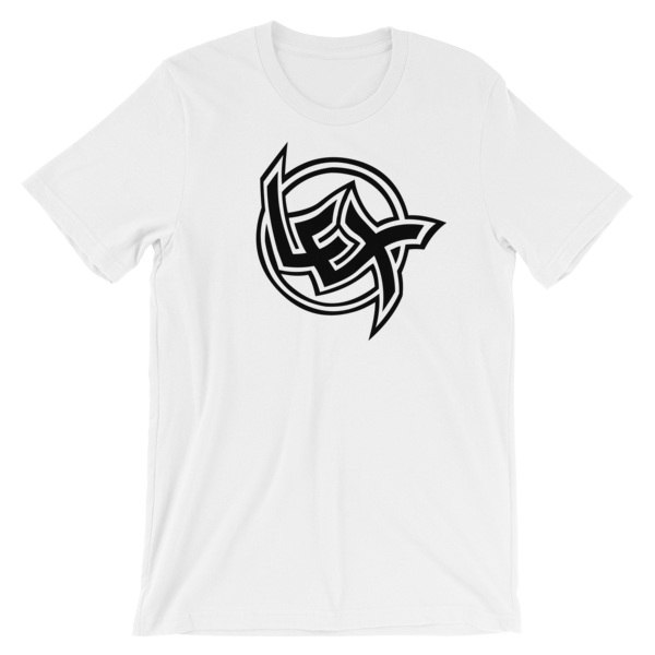 LEX White Short-Sleeve Unisex T-Shirt