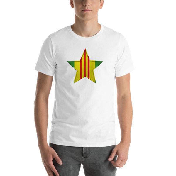 VIETNAM VETERAN 1 STAR Short-Sleeve Unisex T-Shirt - Multiple Colors