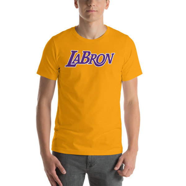 LABron Gold Short-Sleeve Unisex T-Shirt