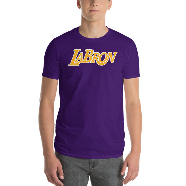 LABron Laker Blue Short-Sleeve Unisex T-Shirt