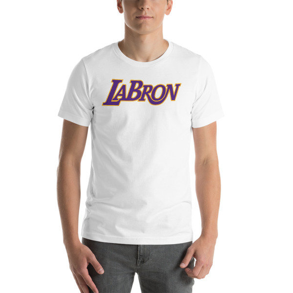 LABron White Short-Sleeve Unisex T-Shirt