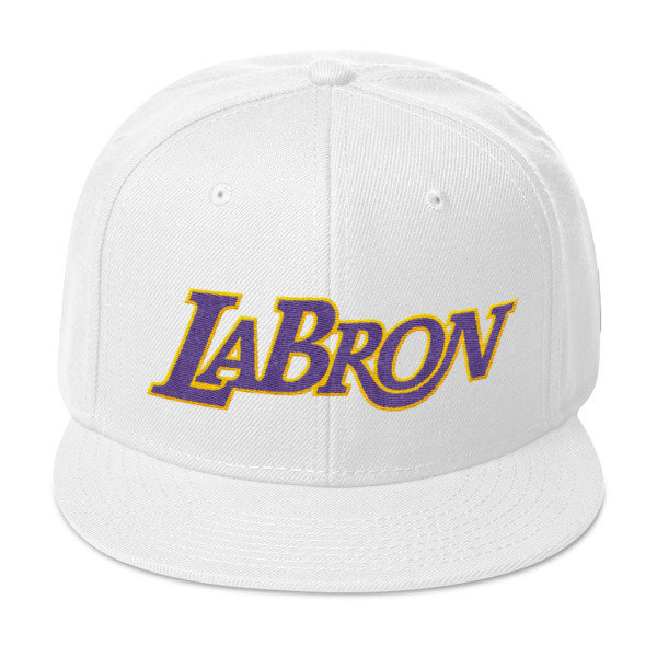 LABron White Snapback Hat