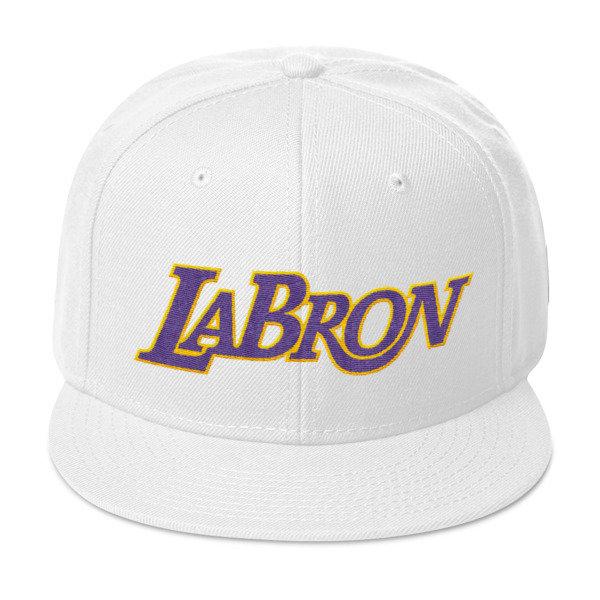 LABron White Snapback Hat