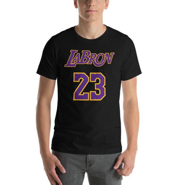 LABron Dark Short-Sleeve Unisex T-Shirt