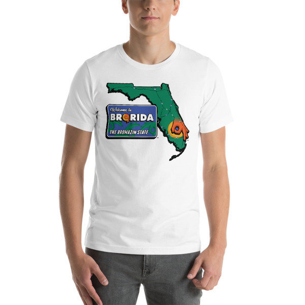 BRORIDA STATE and SIGN Short-Sleeve Unisex T-Shirt - Multiple Colors