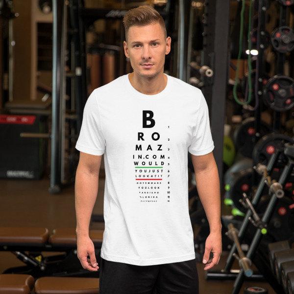 BROMAZIN BROPTOMETRY Short-Sleeve Unisex T-Shirt