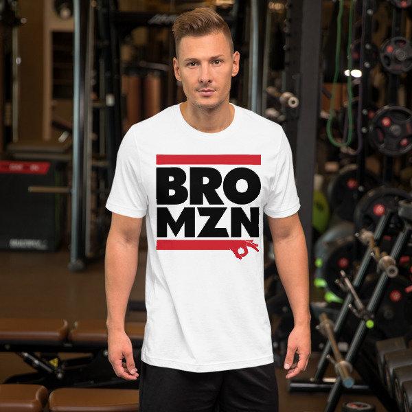 BRO-DMC BRO-MZN - BROMAZIN Short-Sleeve Unisex T-Shirt