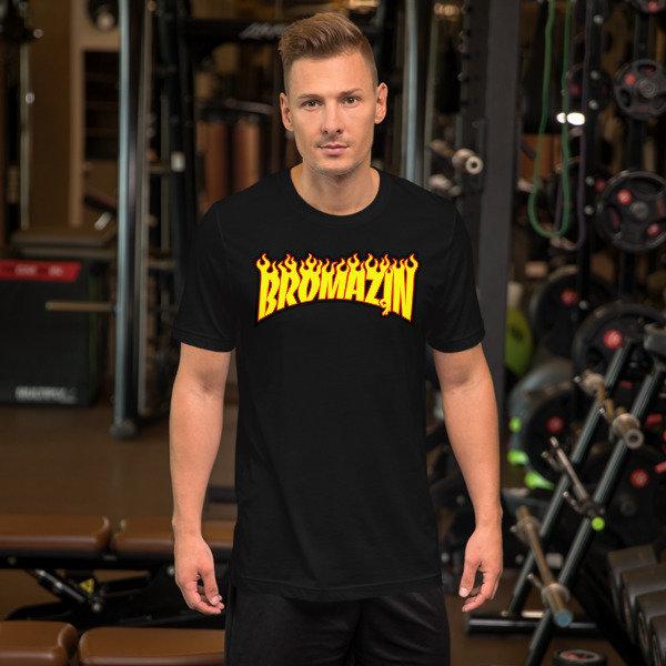 BROMAZIN THRASHBRO Short-Sleeve Unisex T-Shirts