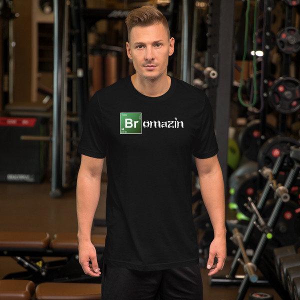 BROMAZIN BROKAEN BAD Short-Sleeve Unisex T-Shirt