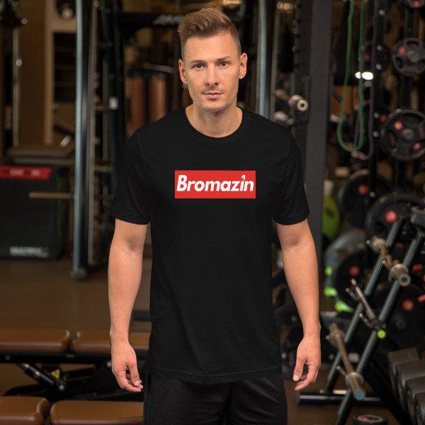 BROMAZIN BROPREME Short-Sleeve Unisex T-Shirt