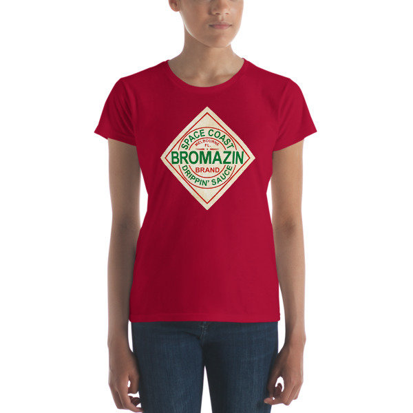 BROMAZIN BROBASCO Women's short sleeve t-shirt