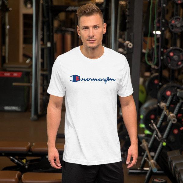 BROMAZIN CHAMPBROIN Short-Sleeve Unisex T-Shirt