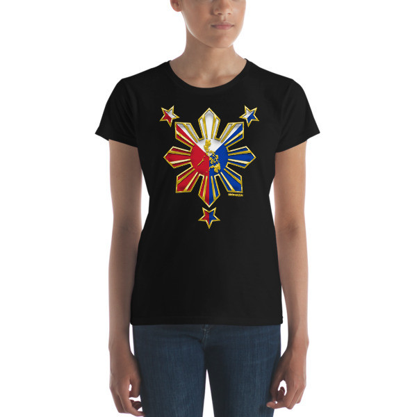 PROUD TO BE FILIPINO Women's short sleeve t-shirt PHILIPPINES