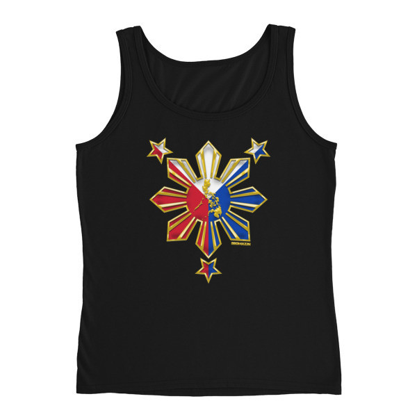 PROUD TO BE FILIPINO Ladies' Tank PHILIPPINES