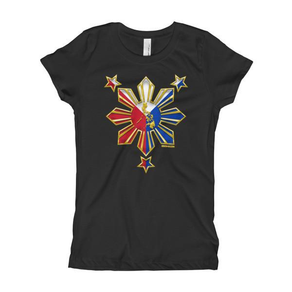 PROUD TO BE FILIPINO Girl's T-Shirt PHILIPPINES