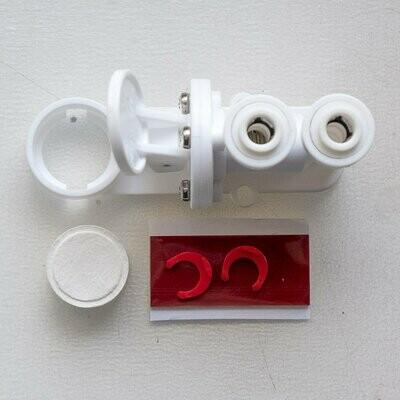 "Автономный датчик-блокиратор ""Антипротечка"". Autonomous protection valve against a leakage"