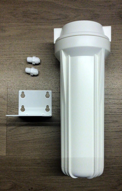 Колба фильтра вертикальная типа АТОЛЛ с кронштейном